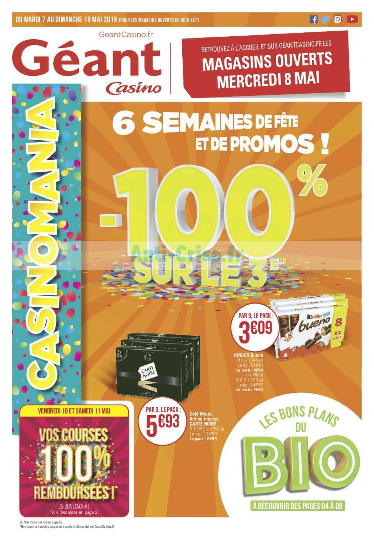 Geant casino 50 jouets 2019