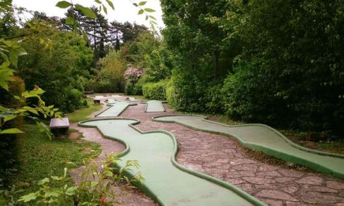 Lyon : billets à prix réduits pour le Mini Golf du Parc de la Tête d'Or