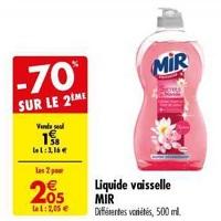 Liquide Vaisselle Mir chez Carrefour (14/05 – 27/05)
