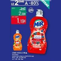 Liquide Vaisselle Secrets Intenses Mir chez Match (14/05 – 26/05)