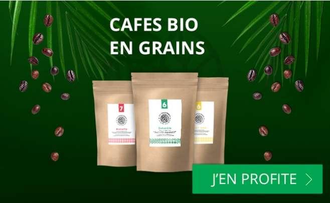 Café bio en grains MonExpresso : 7.5€ le bon d'achat de 25€