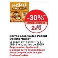 Barres Nakd. chez Monoprix (22/05 – 03/06)
